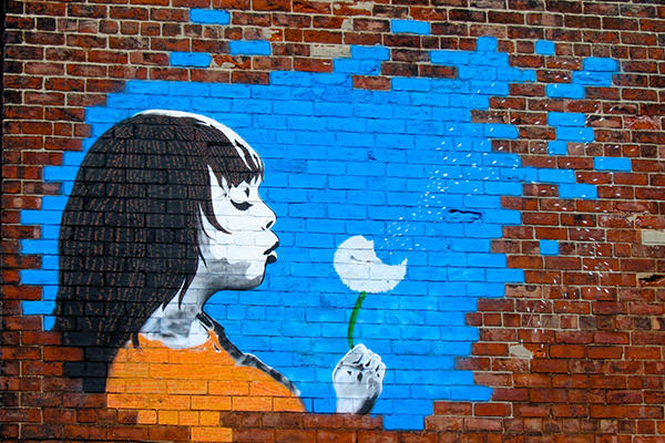 Make a Wish, Bentley Street Art, Right Up Our Street