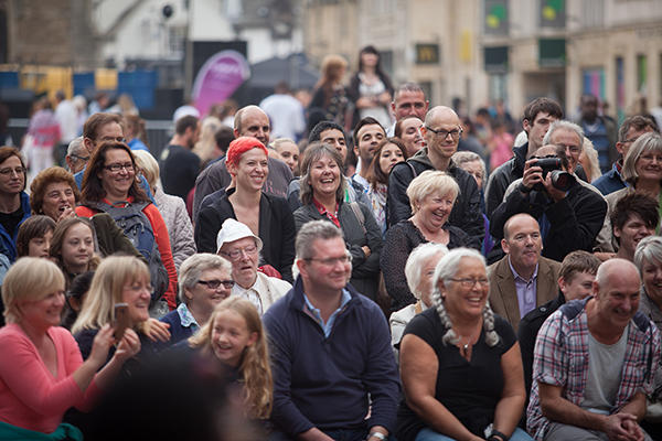 Audiences at Peterborough Arts Festival
