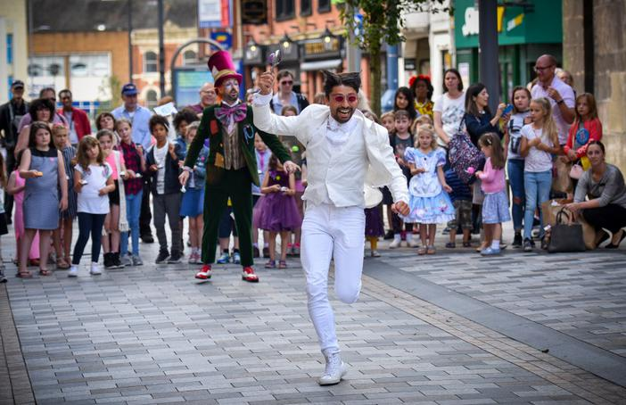 Alice in Wonderland by Royal Opera House performed at Appetite Big Feast 2017