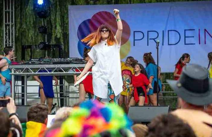 Ana Matronic at Pride