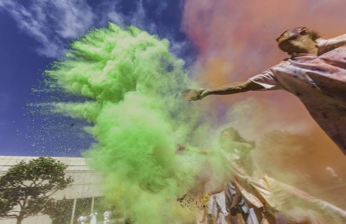 Artonik Colour of Time for Luton Creates. Photo: Ben Hodson