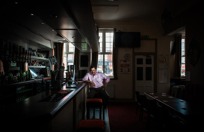 Creative Black Country's Desi Pubs. Portrait by Dharmendra Patel