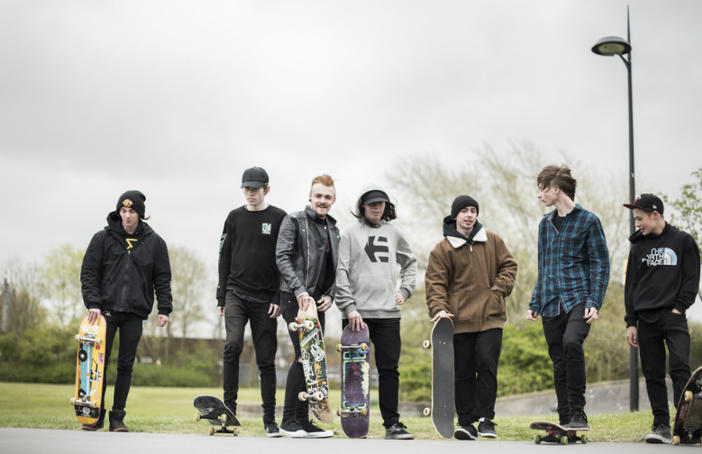 Heather Peak of Studio Morison recently took more than 50 local St Helens skaters on research trips to skate parks around the country. Photo Stephen King