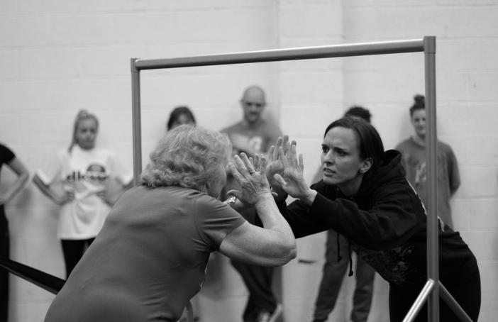 Rehearsals for No Way Back. Photo: Scott Graham