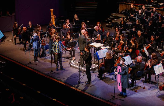 Sound Around Northampton Schools concert. Orchestras Live. Photo: Photocall Event Photography