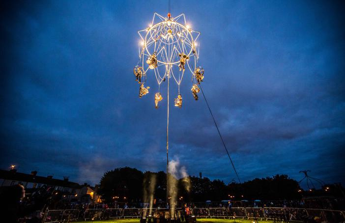 The Enchanted Chandelier by Transe Express, Appetite, Stoke-on-Trent, 2016