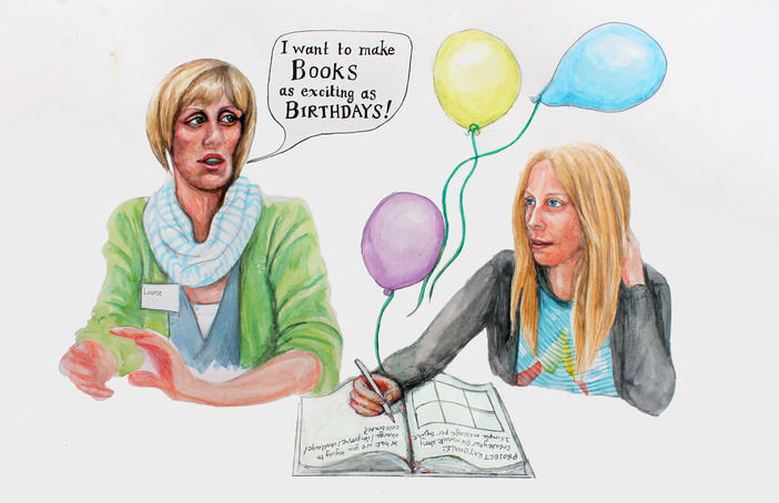 I want to make Books exciting as Birthdays!