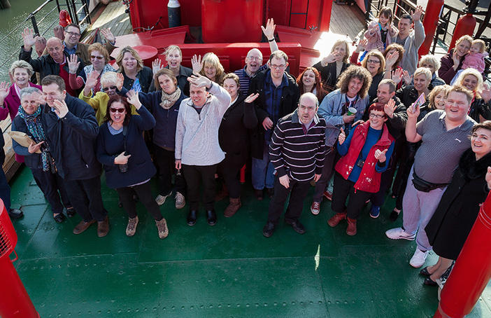 Kent Autistic Trust aboard LV21