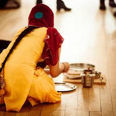 Chapatti Wife: Cooks Chutney 2016 – Gaganpreet Gill Kaur. Image: Rosie Cooper